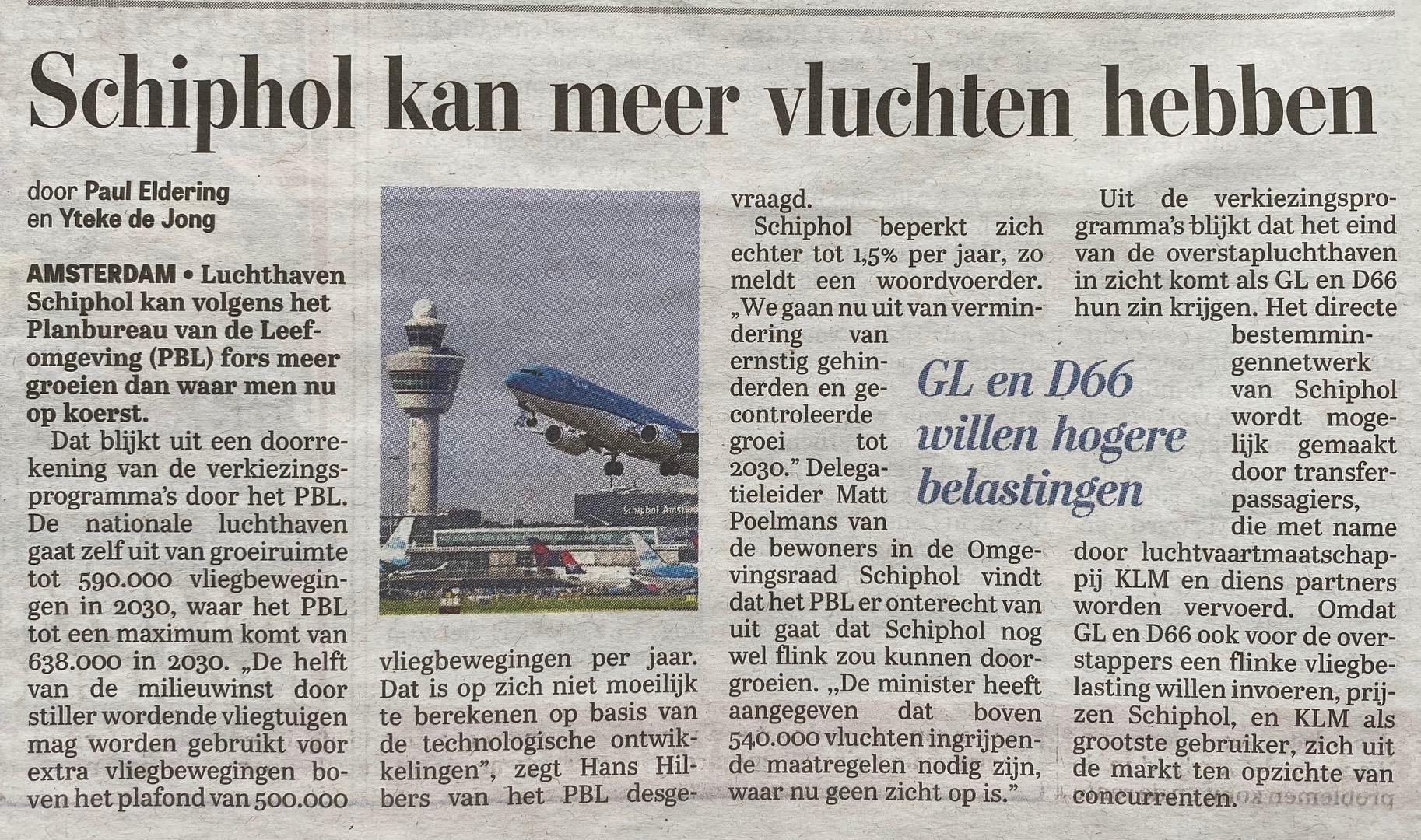 Telegraaf 20210303